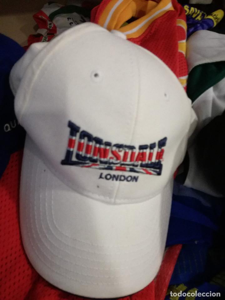 4fd531f3dee27 GORRA CAP LONSDALE (Coleccionismo Deportivo - Material Deportivo - Fútbol)