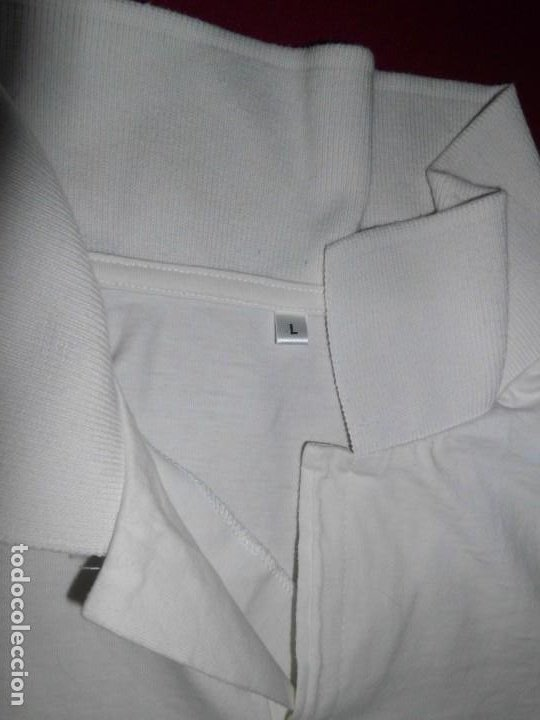 Coleccionismo deportivo: Camiseta de algodón del Real Madrid con firmas - Foto 5 - 143737146