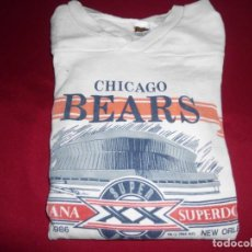 Coleccionismo deportivo: CAMISETA CHICAGO BEARS RUGBY AMERICANO. Lote 143738206