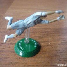 Coleccionismo deportivo: FIGURA PVC FUTBOL FTCHAMPS NANO SANTI CAÑIZARES (VALENCIA) - LIGA - 6 CMS. Lote 156872984