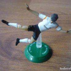 Coleccionismo deportivo: FIGURA PVC FUTBOL FTCHAMPS NANO DAVID VILLA (VALENCIA) - LIGA - 6 CMS. Lote 156873032