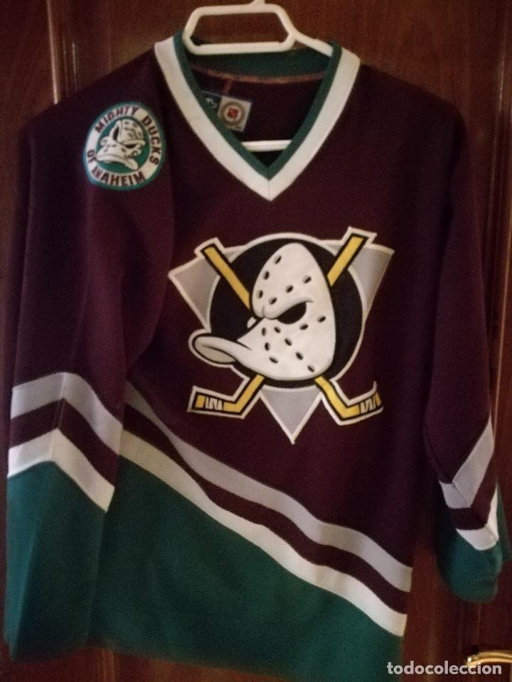 5f5b3632ebe3a Mighty ducks nhl hockey hielo jersey camiseta s - Sold through ...