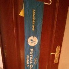 Coleccionismo deportivo: FUTSAL ZARAGOZA SALA UEFA CHAMPIONS EUROPEAN BUFANDA SCARF FOOTBALL FUTBOL. Lote 143995686