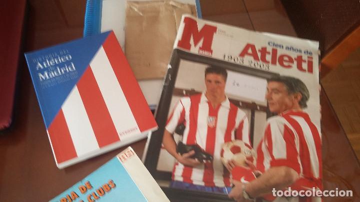 ATLETICO DE MADRID : KIT DE MATERIAL DE COLECCION ESPECIAL (Coleccionismo Deportivo - Material Deportivo - Fútbol)