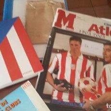 Coleccionismo deportivo: ATLETICO DE MADRID : KIT DE MATERIAL DE COLECCION ESPECIAL. Lote 144662346
