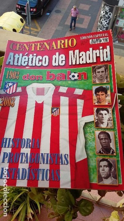 Coleccionismo deportivo: ATLETICO DE MADRID : KIT DE MATERIAL DE COLECCION ESPECIAL - Foto 2 - 144662346