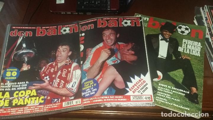 Coleccionismo deportivo: ATLETICO DE MADRID : KIT DE MATERIAL DE COLECCION ESPECIAL - Foto 4 - 144662346