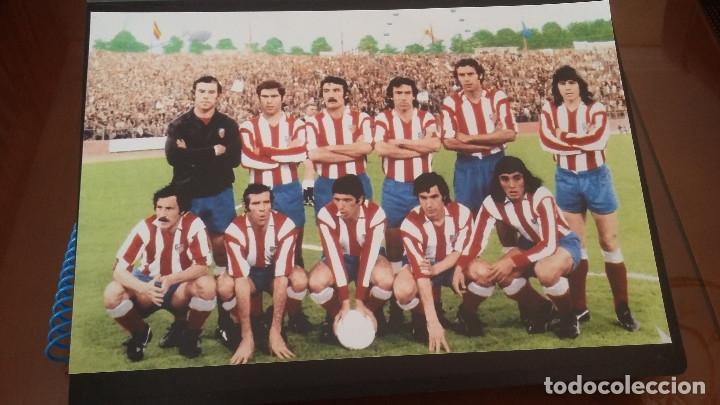 Coleccionismo deportivo: ATLETICO DE MADRID : KIT DE MATERIAL DE COLECCION ESPECIAL - Foto 6 - 144662346