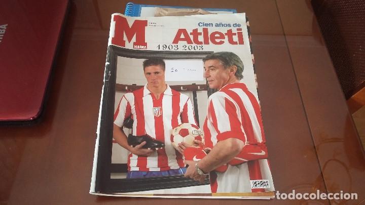 Coleccionismo deportivo: ATLETICO DE MADRID : KIT DE MATERIAL DE COLECCION ESPECIAL - Foto 7 - 144662346