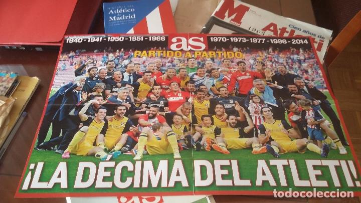 Coleccionismo deportivo: ATLETICO DE MADRID : KIT DE MATERIAL DE COLECCION ESPECIAL - Foto 8 - 144662346