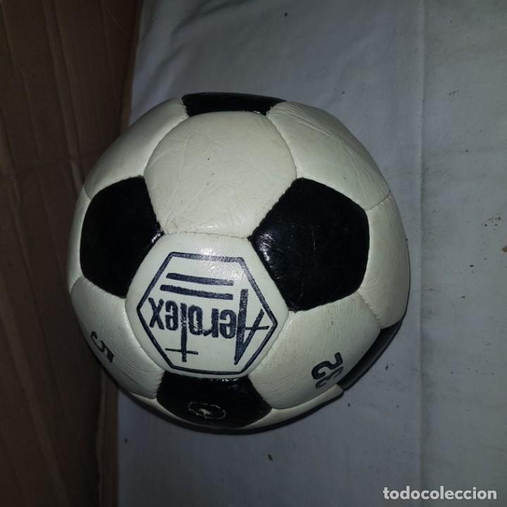 BALON ANTIGUO AEROTEX (Coleccionismo Deportivo - Material Deportivo - Fútbol)