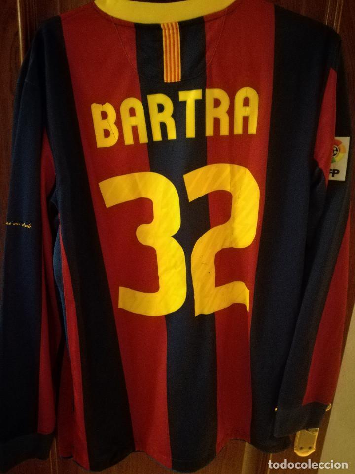 Coleccionismo deportivo: FC BARCELONA MATCH BARTRA L Dorsal mal estado Camiseta futbol football shirt - Foto 2 - 145957370