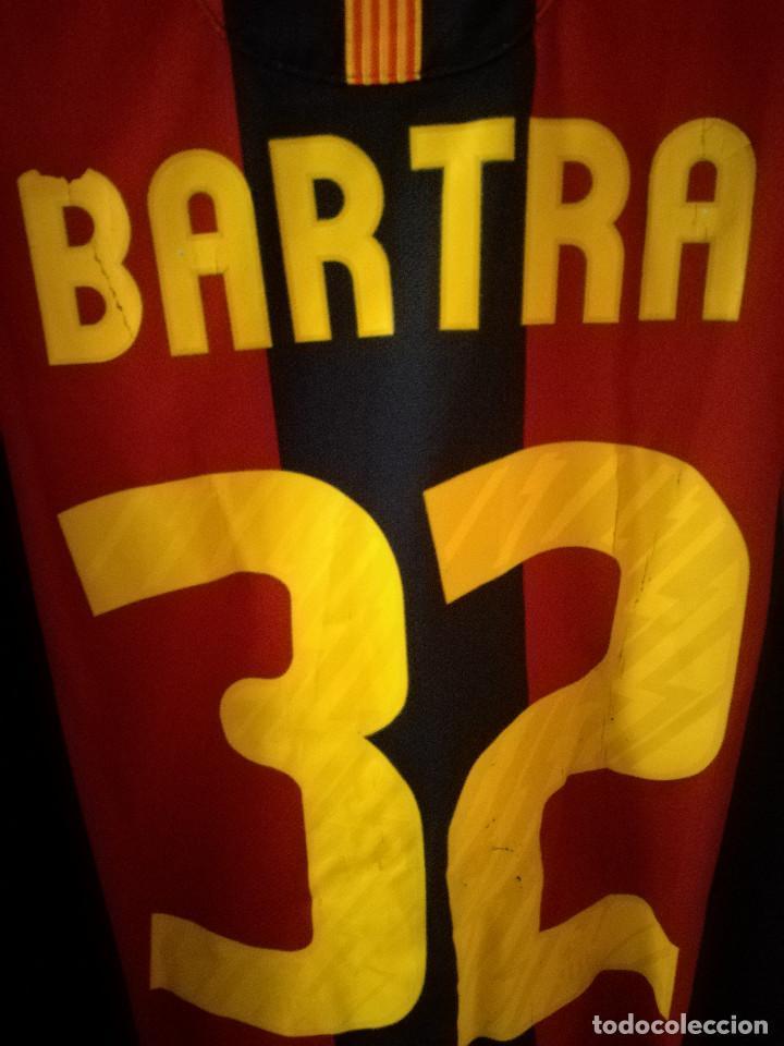 Coleccionismo deportivo: FC BARCELONA MATCH BARTRA L Dorsal mal estado Camiseta futbol football shirt - Foto 3 - 145957370