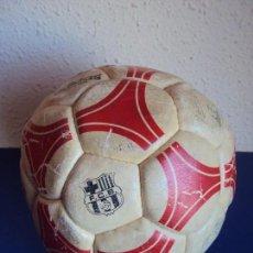 Coleccionismo deportivo: (F-190132)BALON ADIDAS TANGO ROSARIO,EDICION ESPECIAL F.C.BARCELONA,FIRMAS MARADONA,QUINI,MIGUELI,ET. Lote 146264658