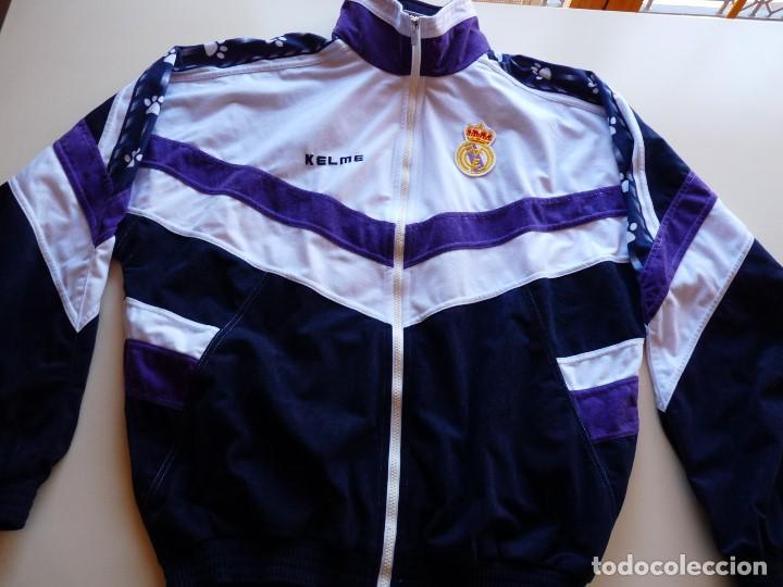 Coleccionismo deportivo: Chaqueta Kelme Real Madrid - Foto 3 - 147060842