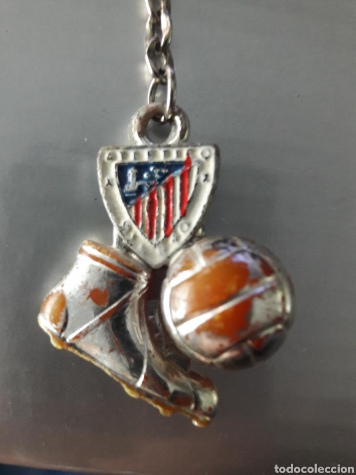 Coleccionismo deportivo: Llavero años 40 Athletic de Bilbao - Foto 3 - 147716010