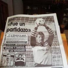 Coleccionismo deportivo: REAL MADRID CF. LOTE 10 DVDS HISTÓRICOS. PARTIDOS AÑOS 80....VIDEOTECA. Lote 148109986