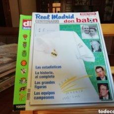 Coleccionismo deportivo: 3 COLECCIONES UNICAS. . EXCELENTE LOTE# MUNDIALES...REAL MADRID Y EXTRAS DON BALON. Lote 148248102