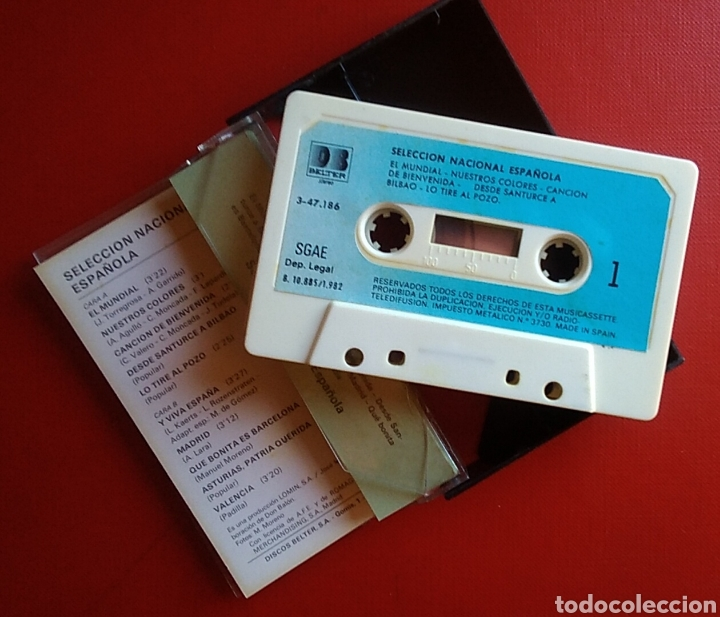 Coleccionismo deportivo: Cinta cassette casete selección nacional española mundial fútbol 82 don balon - Foto 3 - 148576194