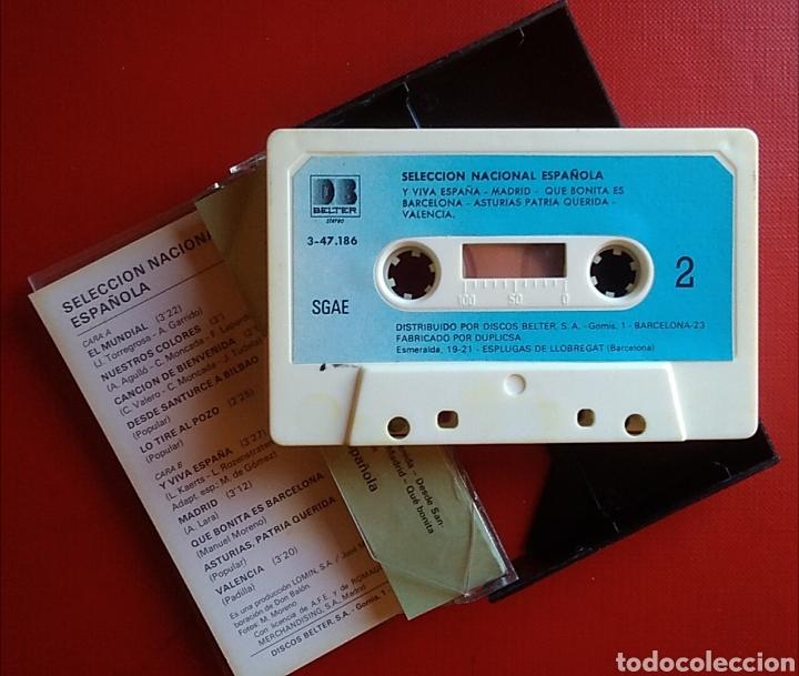 Coleccionismo deportivo: Cinta cassette casete selección nacional española mundial fútbol 82 don balon - Foto 4 - 148576194