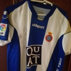 Coleccionismo deportivo: JAVI CHICA MATCH WORN RCD ESPANYOL L CAMISETA FUTBOL FOOTBALL SHIRT . Lote 148656282