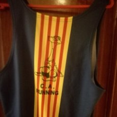 Collectionnisme sportif: CLUB ATLETIC RUNNING CAMISETA MAILLOT ATLETISMO BARCELONA L. Lote 149694006