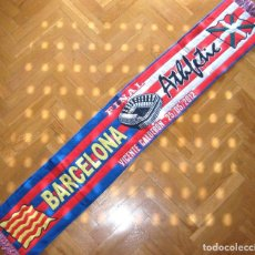 Collectionnisme sportif: BUFANDA SCARF FINAL FC BARCELONA ATHLETIC CLUB BILBAO COPA 2012 SCIARPA ECHARPE. Lote 149852286