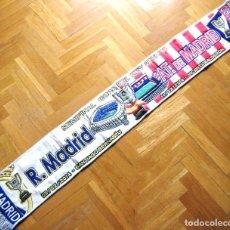 Coleccionismo deportivo: BUFANDA SCARF REAL MADRID - ATLETICO MADRID SEMIFINAL COPA DEL REY 2013-14 SCHAL. Lote 149853374