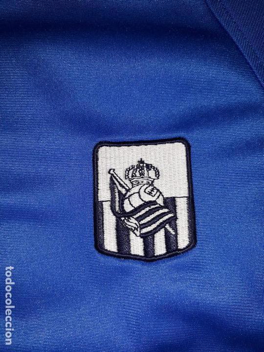 Coleccionismo deportivo: Chaqueta chandal Real Sociedad talla 14 - Foto 3 - 174543443