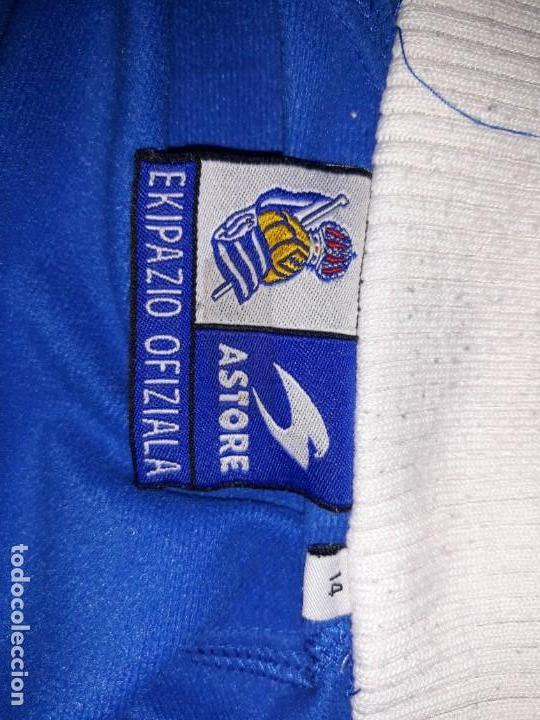 Coleccionismo deportivo: Chaqueta chandal Real Sociedad talla 14 - Foto 4 - 174543443