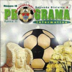 Coleccionismo deportivo: PROGRAMA ELCHE CF HERCULES TEMPORADA 97/98. Lote 151613954
