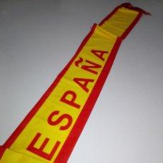 Coleccionismo deportivo: BUFANDA-ESPAÑA-TELA DOBLE-BUEN ESTADO-VER FOTOS. Lote 152442714