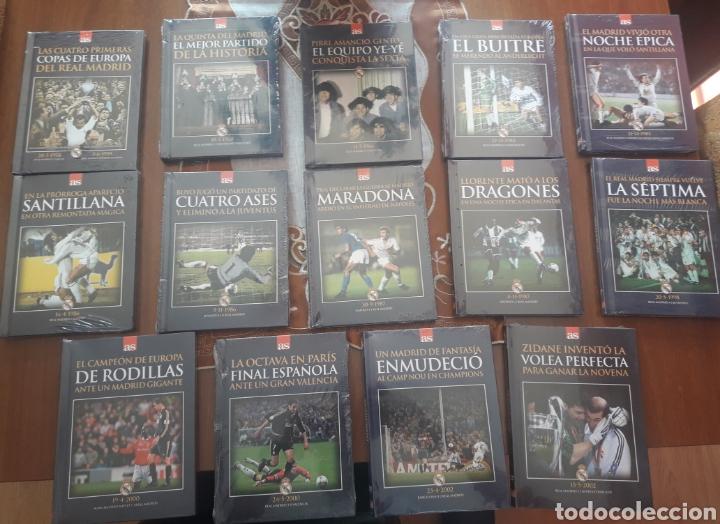 COLECCIÓN COMPLETA LIBROS+DVD REAL MADRID (Coleccionismo Deportivo - Material Deportivo - Fútbol)