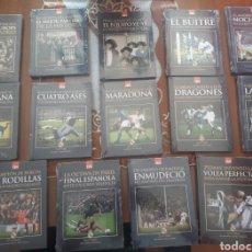 Coleccionismo deportivo: COLECCIÓN COMPLETA LIBROS+DVD REAL MADRID. Lote 153541684