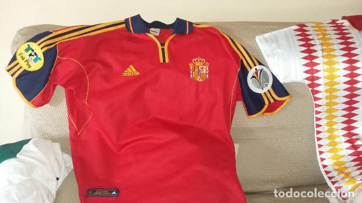 Coleccionismo deportivo: SELECCION ESPAÑOLA : MATERIAL COLECCIONISTA: RELIQUIAS Difíciles - Foto 4 - 153706538
