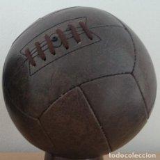 Coleccionismo deportivo: BALON PELOTA RETRO FUTBOL AÑOS 1930 1940 PRE ADIDAS. Lote 153833994