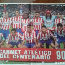 Coleccionismo deportivo: LOTE POSTERS HISTORICOS FUTBOL ANTIGUOS . LOTE SELECTO DON BALON. Lote 154871546