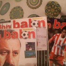 Coleccionismo deportivo: REVISTAS ANTIGUAS FUTBOL . LOTE 80 REVISTAS .AÑOS 1999-2005. Lote 154872118