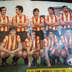 Coleccionismo deportivo: POSTER AS COLOR AÑOS 70 . LOTE VARIADO EQUIPOS 1 DIVISION . Lote 154991098