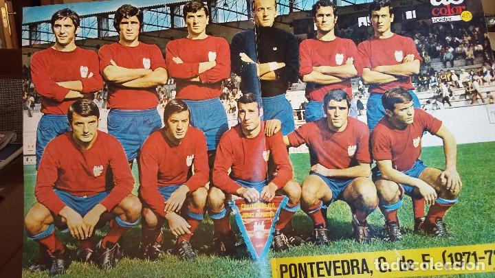 Coleccionismo deportivo: POSTER AS COLOR AÑOS 70 . LOTE VARIADO EQUIPOS 1 DIVISION - Foto 4 - 154991098