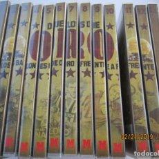 Coleccionismo deportivo: DUELOS DE ORO , DOS BALONES DE ORO FRENTE A FRENTE 13 DVDS MARCA LOS MEJORES DEL MUNDO . Lote 155177178