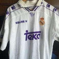 Coleccionismo deportivo: REAL MADRID L DORSAL 9 CAMISETA FUTBOL FOOTBALL SHIRT . Lote 155373526