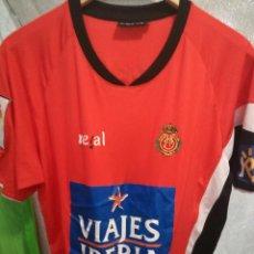 Coleccionismo deportivo: REAL MALLORCA MATCH WORN L CAMISETA FUTBOL FOOTBALL SHIRT . Lote 155479750