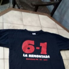 Coleccionismo deportivo: CAMISETA 6-1 / LA RENONTADA /FCB -PSG /DIARIO SPORT. Lote 156257050