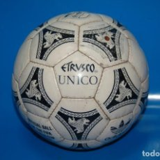 Coleccionismo deportivo: BALON DE FUTBOL ADIDAS ETRUSCO UNICO · OFFICIAL BALL OF THE FIFA WORLD CUP 1990 · MADE IN SPAIN. Lote 156817346