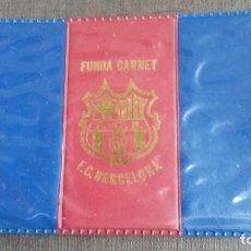 Coleccionismo deportivo: FUNDA CARNET SOCIO SOCI FC. BARCELONA . Lote 165256528