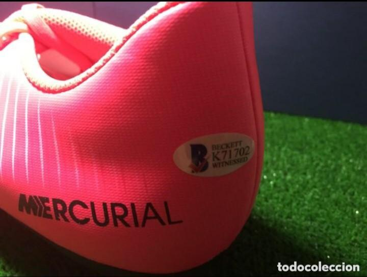 e4d139b771e Coleccionismo deportivo  FC Barcelona Bota Nike Mercurial con autografo de Philippe  Coutinho + COA de