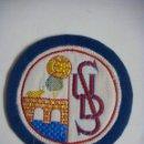 Coleccionismo deportivo: PARCHE DE TELA DE UNION DEPORTIVO SALAMANCA. Lote 160743002