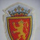 Coleccionismo deportivo: PARCHE DE TELA DE REAL ZARAGOZA. Lote 160743118