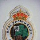 Coleccionismo deportivo: PARCHE DE TELA DEL REAL RACING CLUB SANTANDER. Lote 160743878